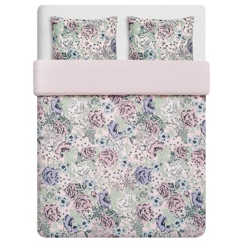 RUNDSTARR quilt cover and 2 pillowcases 152 /inch² 2 pieces 220 cm 240 cm 50 cm 80 cm