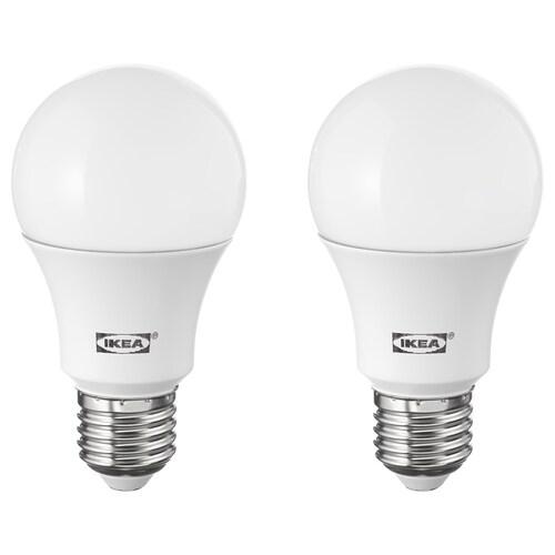 RYET LED bulb E27 1000 lumen globe opal white 2700 K 1000 lm 10.0 W 2 pieces