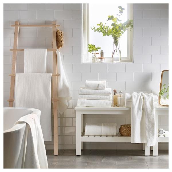 SALVIKEN Washcloth, white, 30x30 cm