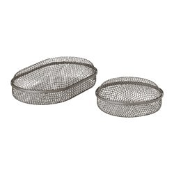 SAMMANHANG Box with lid, set of 2
