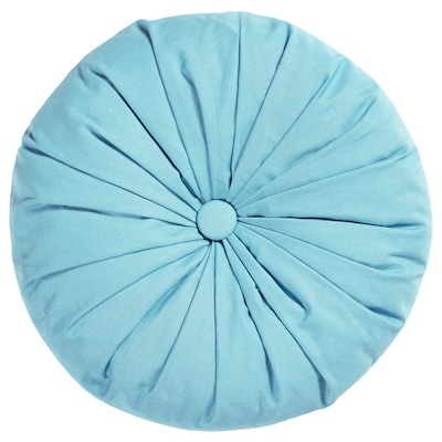SAMMANKOPPLA Cushion, round blue, 40 cm