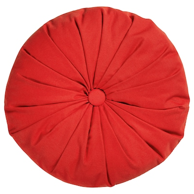 SAMMANKOPPLA Cushion, round red, 40 cm