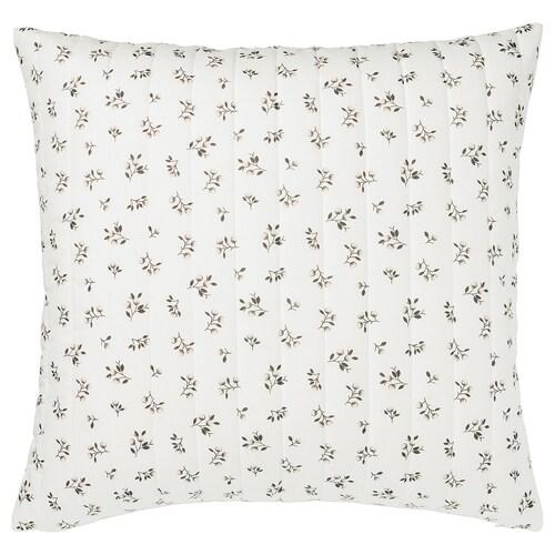 SANDLUPIN cushion cover white/grey 65 cm 65 cm 40 g 143 g