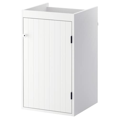 SILVERÅN wash-basin cabinet with 1 door white 40 cm 38 cm 67.6 cm