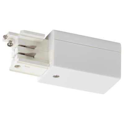 SKENINGE Power connector, white