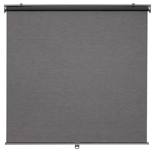 SKOGSKLÖVER roller blind grey 120 cm 123.4 cm 195 cm 2.34 m²