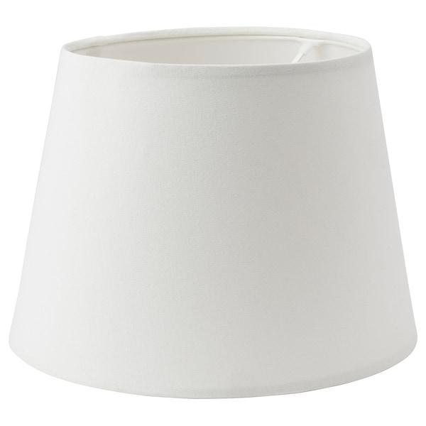 SKOTTORP Lamp shade, white, 33 cm