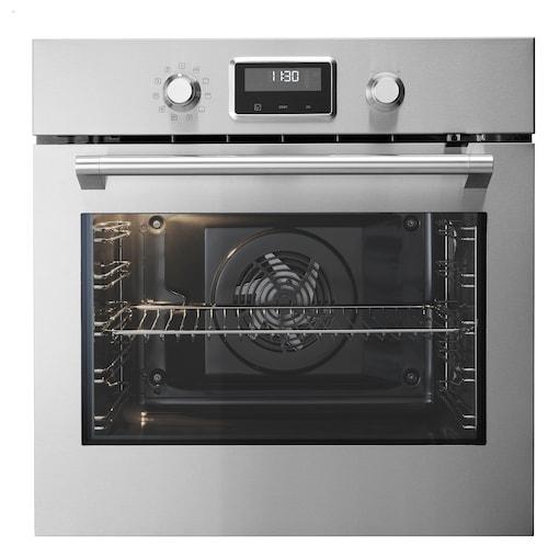 SMAKSAK forced air oven stainless steel 59.4 cm 56.7 cm 58.9 cm 150 cm 72 l 35.80 kg