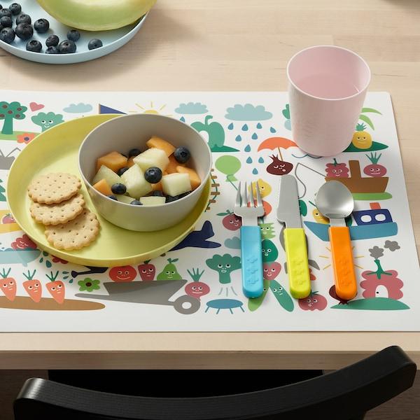 SMASKA 3-piece cutlery set