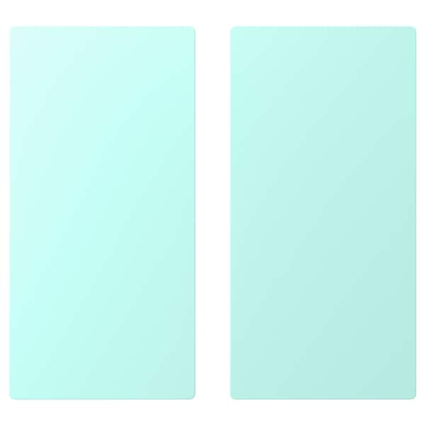 SMÅSTAD Door, pale turquoise, 30x60 cm
