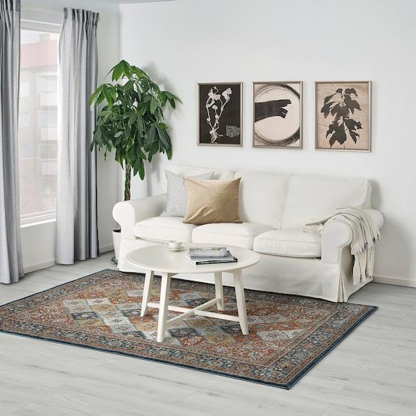 SNOGBÄK سجاد، وبر قصير, عدة ألوان, 160x235 سم