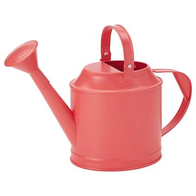 SOCKER Watering can, in/outdoor orange-pink, 5 l