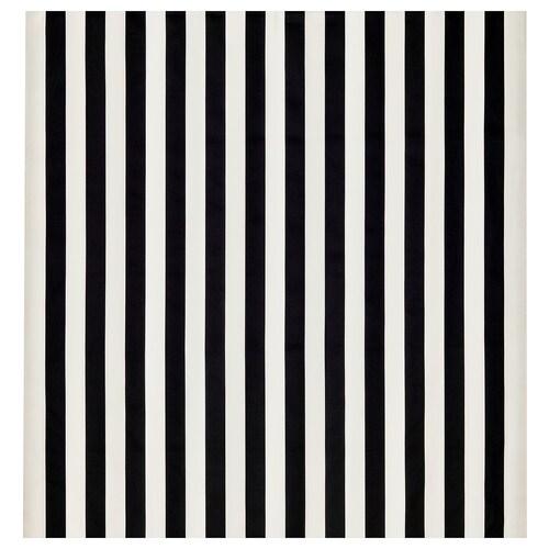 SOFIA fabric broad-striped/black/white 280 g/m² 150 cm 1.50 m²