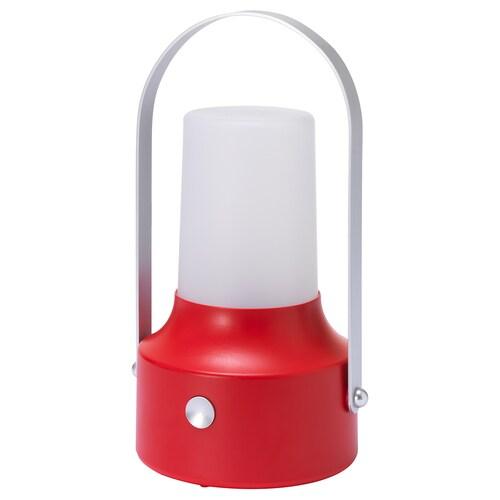 SOLVINDEN LED solar-powered lantern outdoor/red 17 cm 30 cm