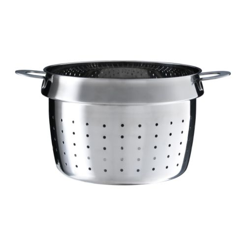 STABIL Pasta insert   Works as a colander as well.  Can be used with most 3-litre pots.