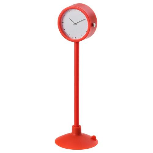 STAKIG clock red 1.8 cm 16.5 cm 4 cm
