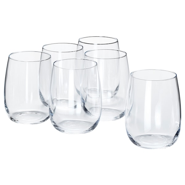 STORSINT كأس, زجاج شفاف, 37 سل