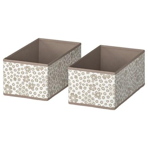 STORSTABBE box beige 20 cm 37 cm 15 cm 2 pieces