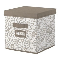 STORSTABBE Box with lid