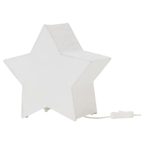STRÅLA table decoration star-shaped/white 7 W 26 cm 13 cm 25 cm