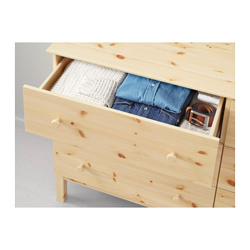 TARVA Chest of 6 drawers   Of course your home should be a safe place for the entire family.