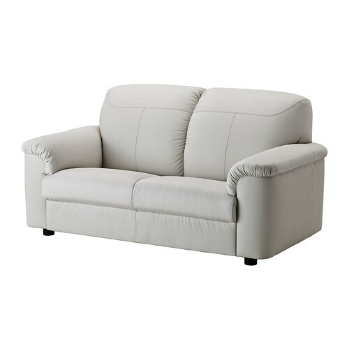 Timsfors two seat sofa mjuk kimstad off white ikea for Divano letto due posti ikea