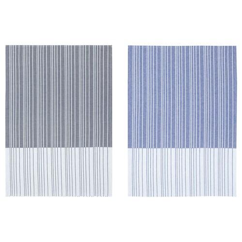 TIMVISARE tea towel dark blue/black 70 cm 50 cm 2 pieces