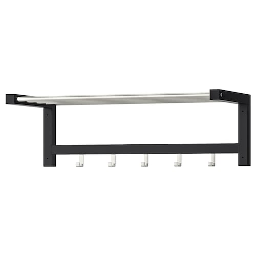 TJUSIG hat rack black 79 cm 32 cm 25 cm