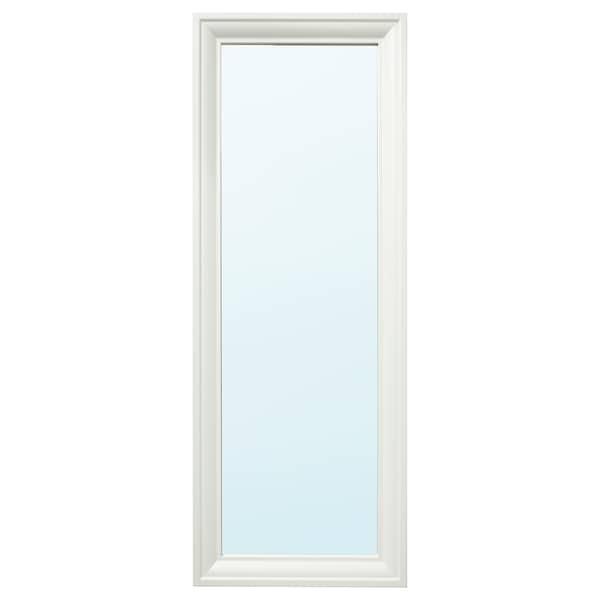 TOFTBYN Mirror, white, 52x140 cm