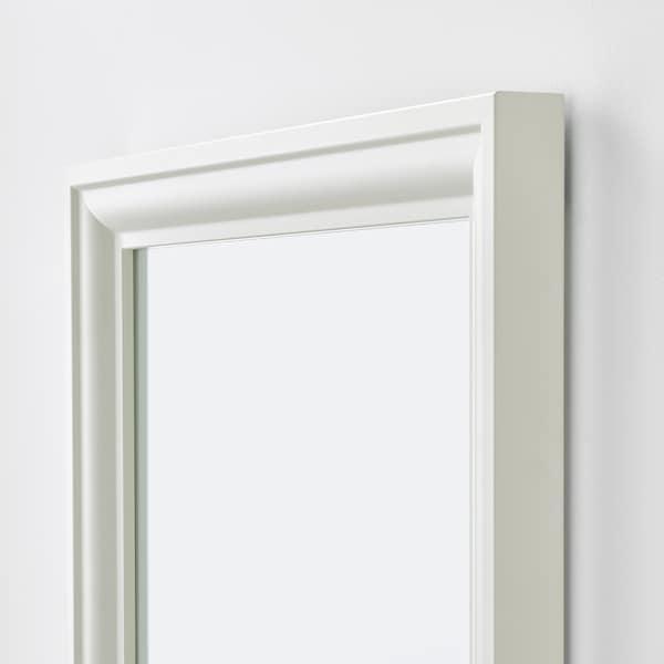 TOFTBYN Mirror, white, 75x165 cm