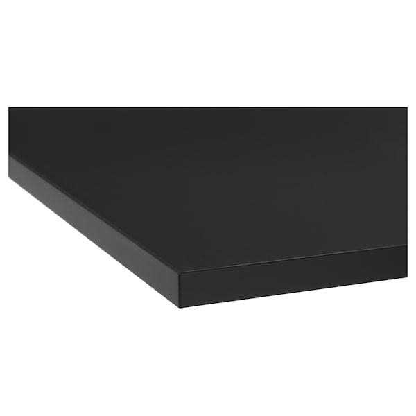 TOLKEN Countertop, anthracite, 62x49 cm