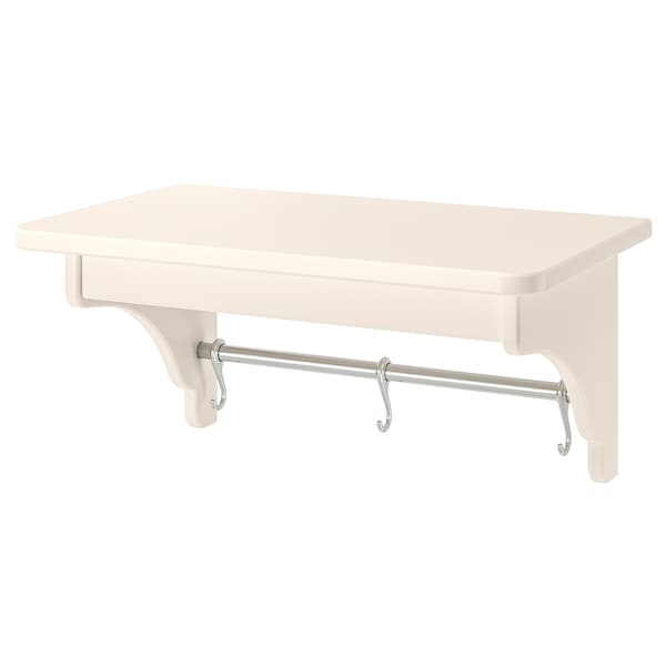 TORNVIKEN wall shelf off-white 50 cm 30 cm 24 cm