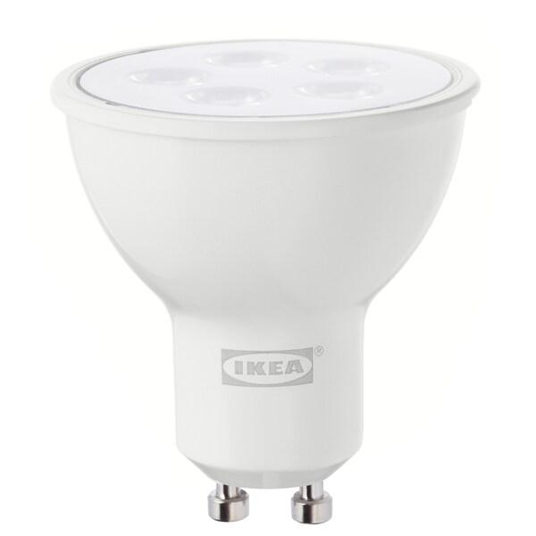 TRÅDFRI لمبة LED GU10 400 lumen, قابل للخفت لاسلكي أبيض دافىء