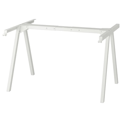 TROTTEN Underframe for table top, white, 140/160 cm