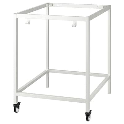 TROTTEN Underframe for table top, white, 80x80x100 cm