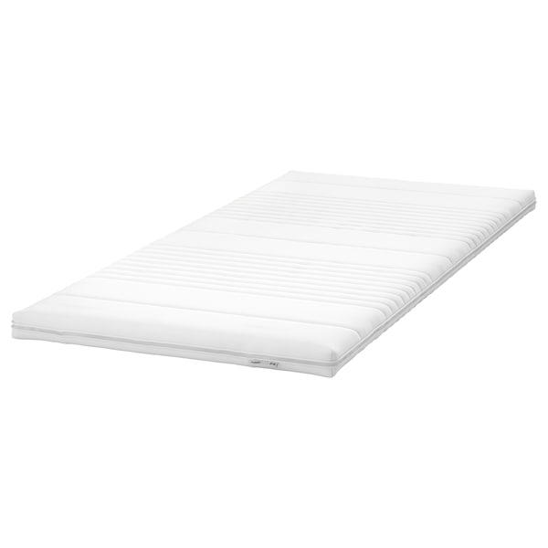 TUSSÖY Mattress pad, white, 90x200 cm