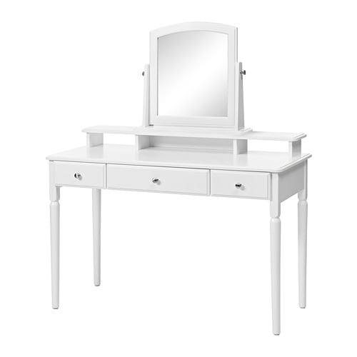 tyssedal dressing table with mirror ikea. Black Bedroom Furniture Sets. Home Design Ideas