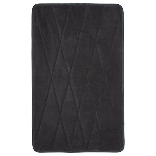 UPPVAN bath mat anthracite 80 cm 50 cm 0.40 m² 1450 g/m²