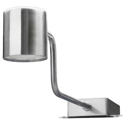URSHULT إضاءة خزانة LED, طلاء - نيكل
