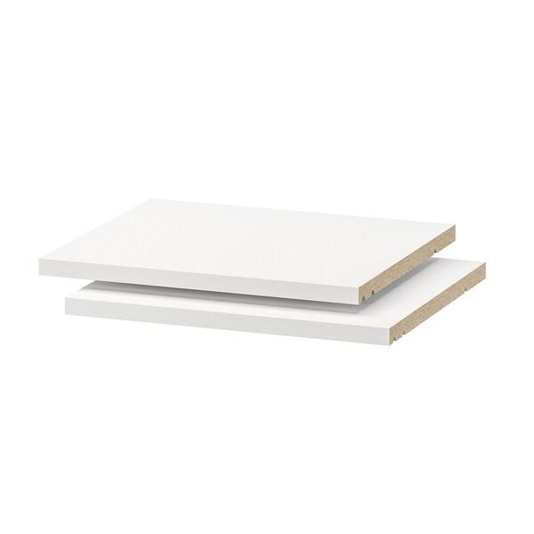 UTRUSTA Shelf, white, 40x37 cm