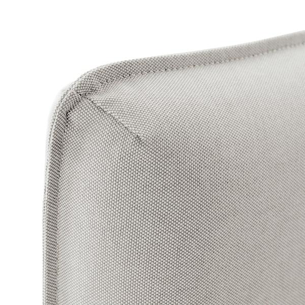 VALLENTUNA backrest Orrsta light grey 84 cm 80 cm 13 cm 80 cm
