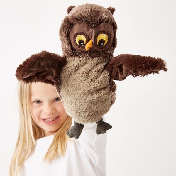 VANDRING UGGLA Glove puppet