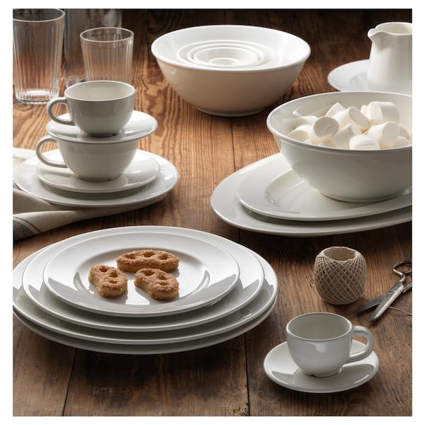 VARDAGEN Serving plate, off-white, 43x28 cm