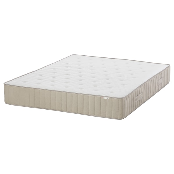 VATNESTRÖM Pocket sprung mattress, extra firm/natural, 160x200 cm