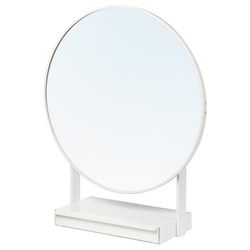 VENNESLA table mirror white 65 cm 79 cm 65 cm
