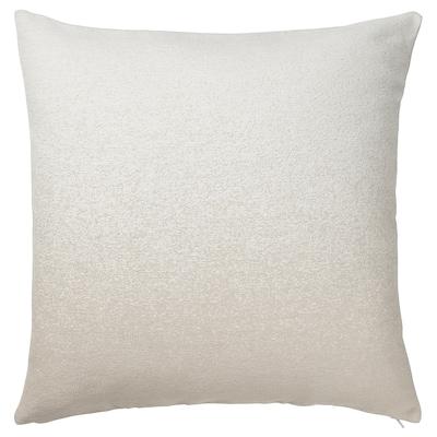 VIDESPINNARE Cushion cover, beige, 50x50 cm