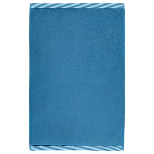VIKFJÄRD bath mat blue 80 cm 50 cm 0.40 m² 1050 g/m²
