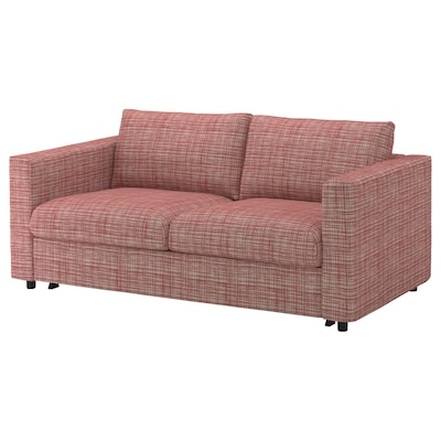 VIMLE 2-seat sofa-bed, Dalstorp multicolour