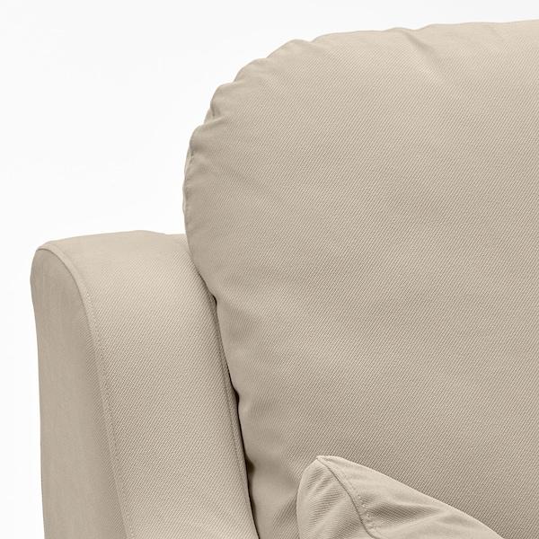 VINLIDEN 2-seat sofa, Hakebo beige