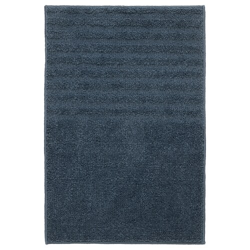 VINNFAR bath mat dark blue 60 cm 40 cm 0.24 m² 1310 g/m²